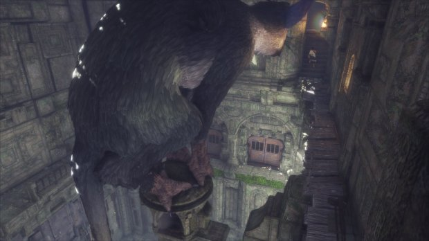 """Trico, the giant creature, has a life of its own in """"The Last Guardian."""""""