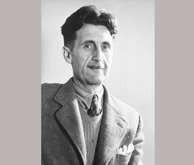 """FILE - This undated image shows George Orwell, author of """"1984."""" Orwell's classic dystopian tale of a society in which facts are distorted and suppressed in a cloud of """"newspeak,"""" first published in 1949, was in the top 5 on Amazon.com as of midday, Tuesday, Jan 24, 2017. (AP Photo, File)"""