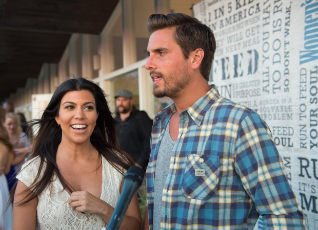 "SCOTT ROTH/ASSOCIATED PRESS ARCHIVESScott Disick and Kourtney Kardashian attend the ""Party Under the Stars"" benefit in New York in August 2014. Reports say Kardashian has broken things off with her longtime beau because of his hard-partying ways. OK for web OK for all pubs"