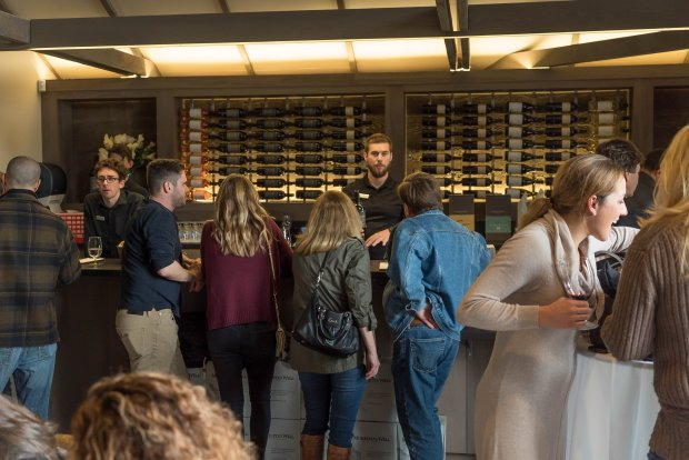 The revamped tasting bar at Livermore Valley's Murrieta's Well is a popularwinery destination. Photo credit: Courtesy of Jon Orlin