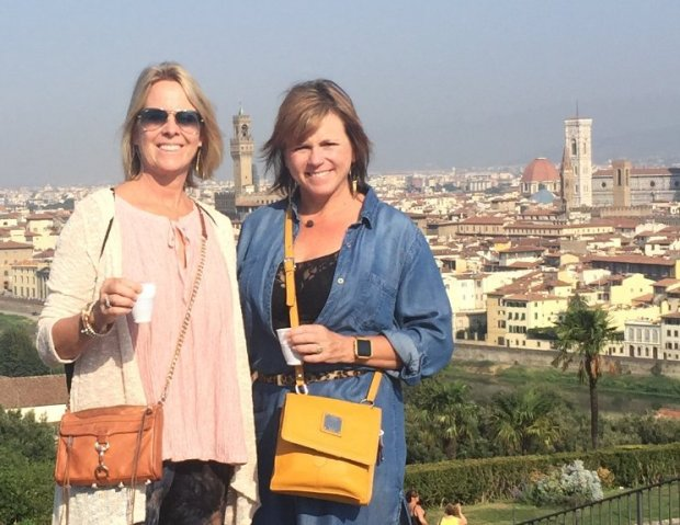 ITALY: Danville residents Nancy Kanat and Carleen Pallavicini's recent tripto Italy included a wine tour of Tuscany and stops in Florence. (Photo courtesy of Carleen Pallavicini)