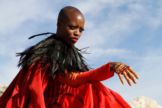 "EMERALD CITY -- ""The Beast Forever"" Episode 101-- Pictured: Florence Kasumba as Wicked Witch of the East -- (Photo by: Rico Torres/NBC)"