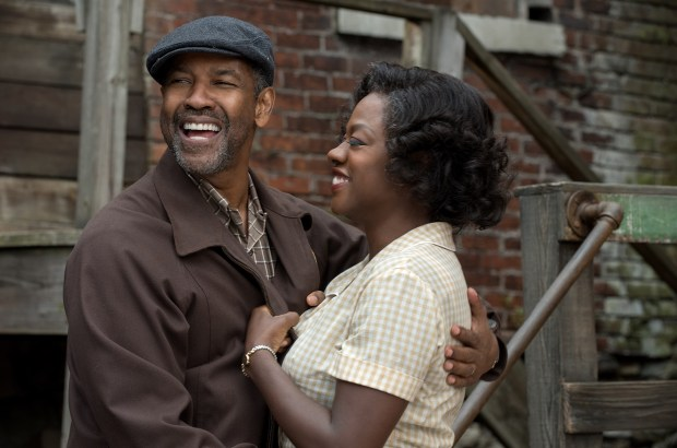 Denzel Washington plays Troy Maxson and Viola Davis plays Rose Maxson in 'Fences.' (Paramount Pictures).
