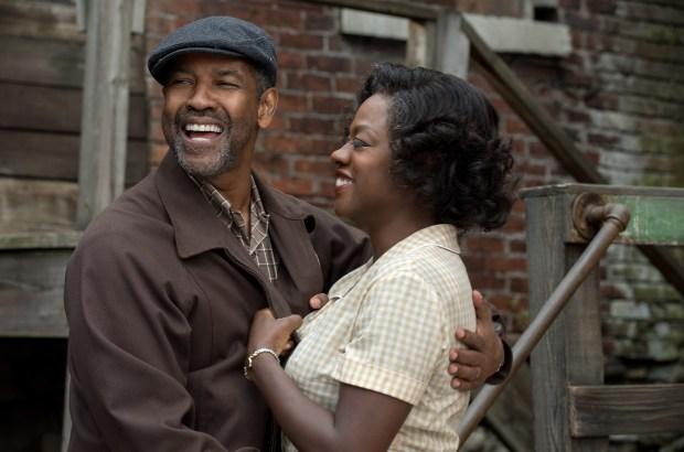 Denzel Washington plays Troy Maxson and Viola Davis plays Rose Maxson in 'Fences.' (Paramount Pictures).