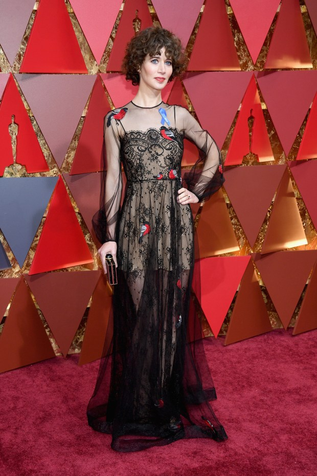 HOLLYWOOD, CA - FEBRUARY 26: Director Miranda July attends the 89th Annual Academy Awards at Hollywood & Highland Center on February 26, 2017 in Hollywood, California. (Photo by Kevork Djansezian/Getty Images)