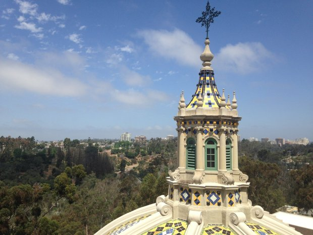 San Diego's Balboa Park celebrated its centennial in 2015 with a fewspecial things, including the reopening of the tower at the Museum of Man, whose heights offer panoramic views of the park and beyond. Photo: Jackie Burrell/Staff