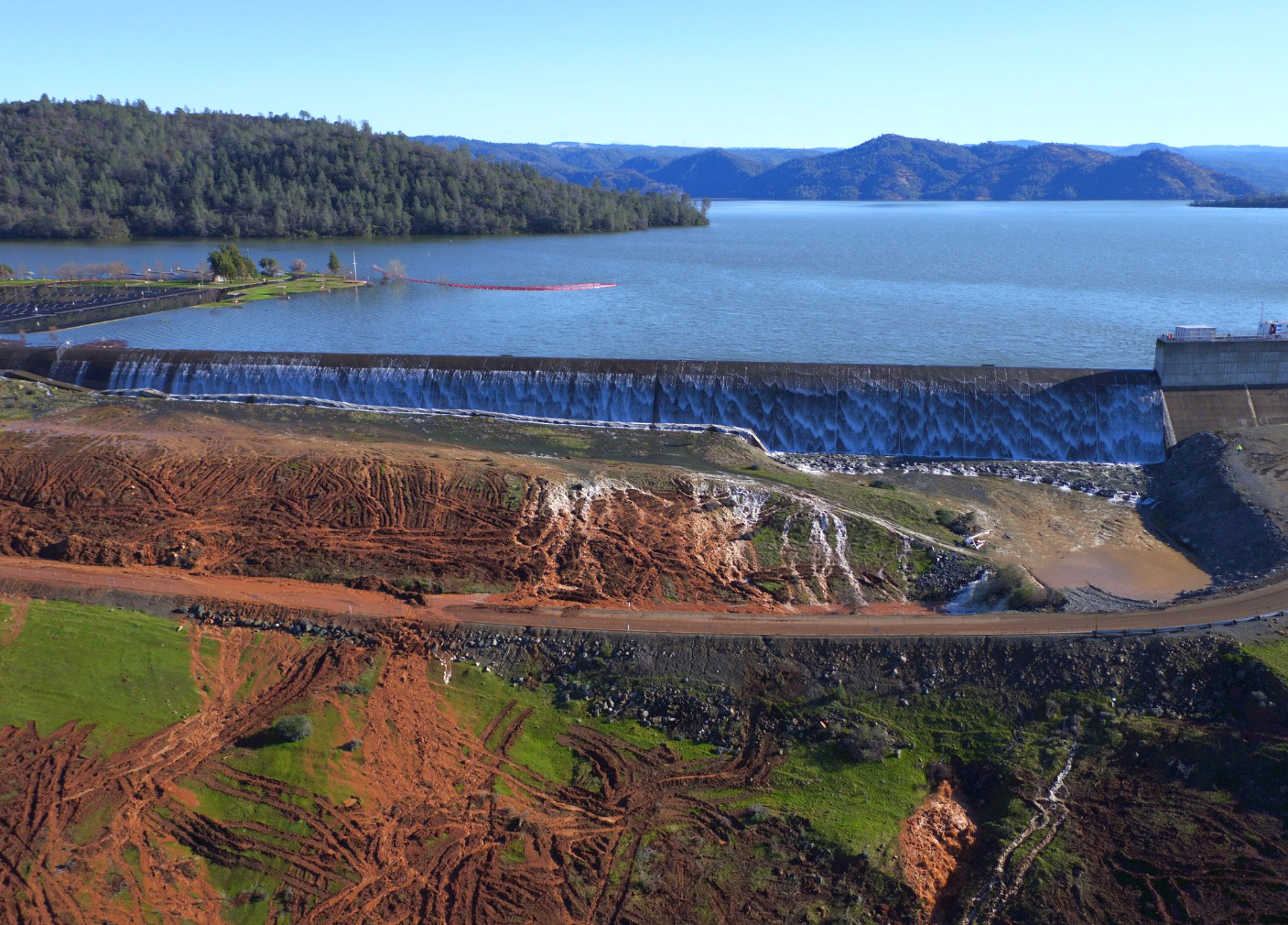 Breaking News: The Oroville Dam Has Stopped Its Overflow