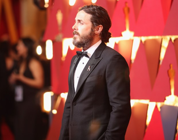 HOLLYWOOD, CA - FEBRUARY 26: Actor Casey Affleck attends the 89th Annual Academy Awards at Hollywood & Highland Center on February 26, 2017 in Hollywood, California. (Photo by Christopher Polk/Getty Images)
