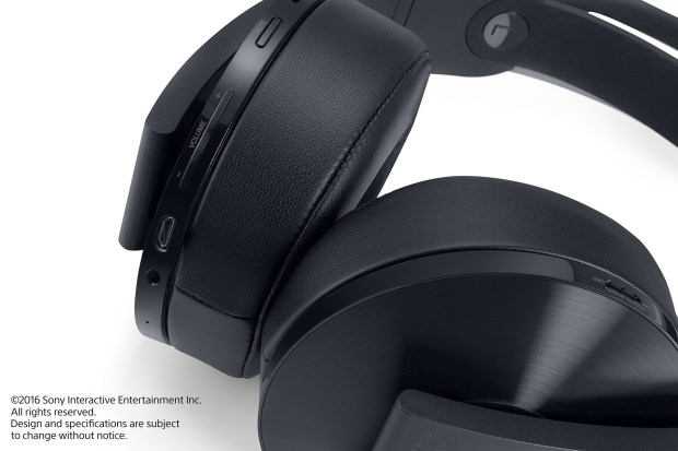 The PlayStation 4 Platinum Wireless Headset works seamlessly with Sony's latest console and boasts some custom features that tailor game experiences to the headset. (Sony Interactive Entertainment)