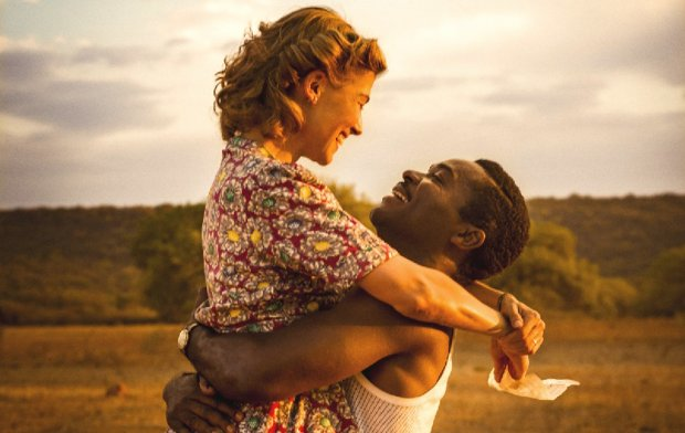 "Rosamund Pike plays Ruth Williams, and David Oyelowo plays SeretseKhama in ""A United Kingdom. (Twentieth Century Fox Film Corporation)"