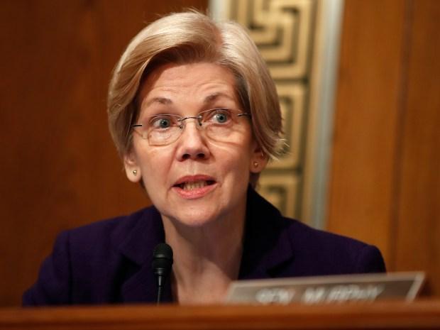 Sen. Elizabeth Warren, D-Mass. (AP Photo/Carolyn Kaster, File)