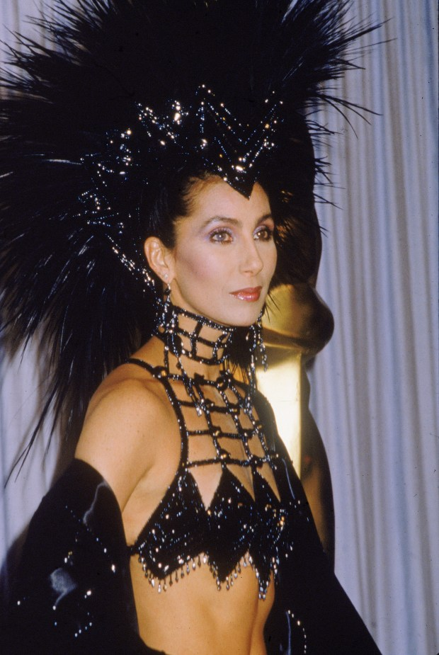 "In the 1980s, one-time singer Cher began to get notice for her acting, winning a supporting actress nomination in 1984 for ""Silkwood."" But when she wasn't nominated for her first leading role in ""Mask,"" she decided to show up at the 1986 Academy Awards in a tarantula-like costume to show her ""scorn"" for the system. The Academy got the message and gave her a Best Actress award two years later for ""Moonstruck."" (Photo by Hulton Archive/Getty Images)"