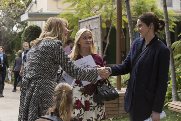 Episode 1, debut 2/19/17: Laura Dern, Reese Witherspoon, Shailene Woodley.photo: Hilary Bronwyn Gayle/courtesy of HBO