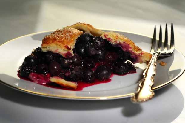 Blueberry pie, photographed in Walnut Creek, Calif., on Wednesday, March 23, 2011. (Mark DuFrene/Staff)