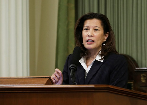 California Supreme Court Chief Justice Tani G. Cantil-Sakauye, 2015. (AP Photo/Rich Pedroncelli, File)