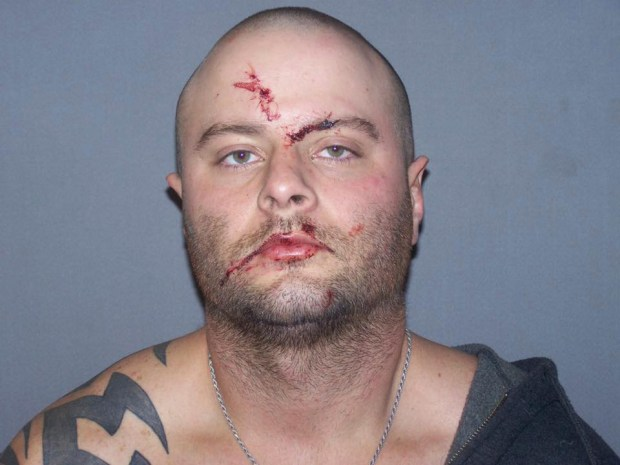 Alex Deaton after his arrest. (Kansas Highway Patrol photograph provided by the Ellsworth County, Kan., Sheriff's Office)
