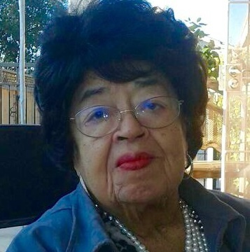 Courtesy Bonnie Panlasigui -- Picture is Sofia Mendoza, a long time Latino rights and civil rights activist in San Jose. Photo to accompany her obituary by Joe Rodriquez, slugged SJM-SOFIAOBIT-0318-2015.
