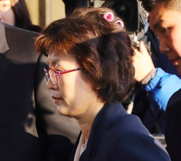 south korean judge s hair curlers a sidelight in impreachment uproar