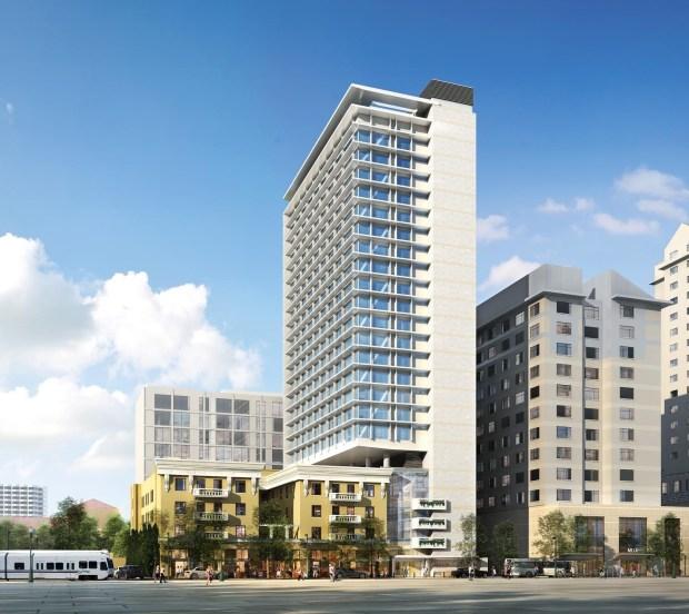 Suburban Apartment Building San Jose