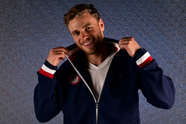 Freestyle skier Gus Kenworthy, 25, from Telluride, Colo. Born in London and raised in the Rockies, he has a silver medal from the 2014 Games. Made headlines the following year when he came out as gay. (Photo by Harry How/Getty Images)