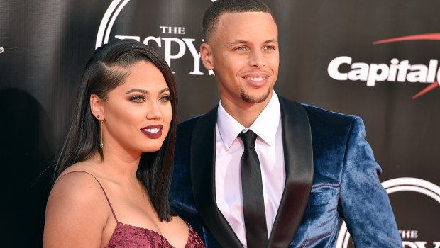 NBA basketball player Stephen Curry, of the Golden State Warriors, right and Ayesha Curry arrive at the ESPY Awards at the Microsoft Theater on Wednesday, July 13, 2016, in Los Angeles. (Photo by Jordan Strauss/Invision/AP)