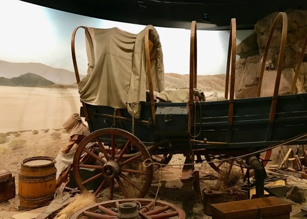 The Spirit of the West gallery at Bend's High Desert Museum brings theOregon Trail to life. (Jackie Burrell/Bay Area News Group)