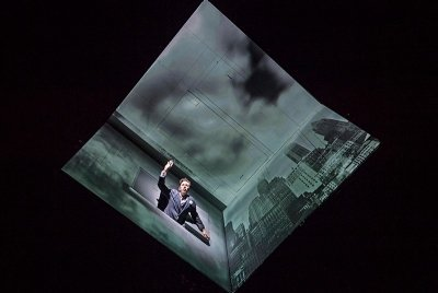 "High tech magic pervades ""Needles and Opium"" at ACT. (courtesy of ACT)"