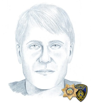 The man depicted in this Campbell police sketch is wanted in an armed robbery at an auto dealership on April 5, 2017.