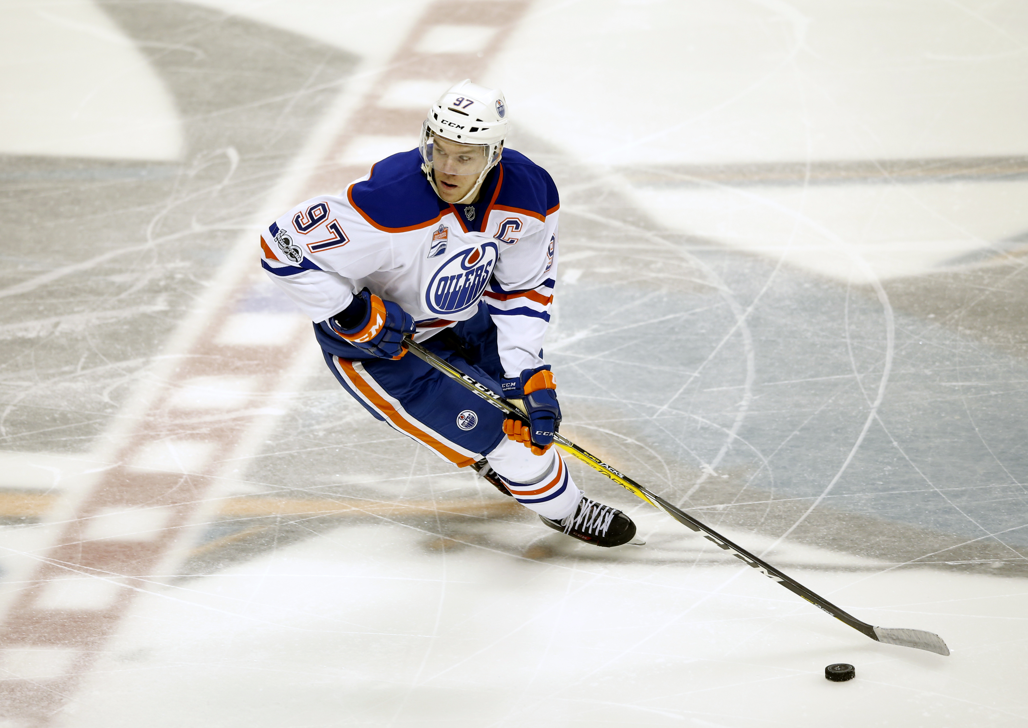 How can the Sharks slow down Oilers' McDavid?