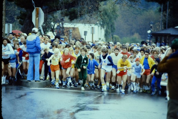 Looking back on four decades of a 'fad' the Great Race from Los Gatos to Saratoga launched when the entire country was consumed by the running craze. On April 30, the event marks its 40th anniversary.