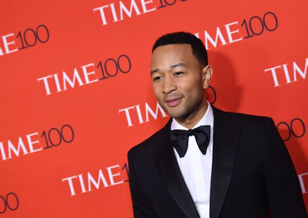 John Legend attends the 2017 Time 100 Gala at Jazz at Lincoln Center on April 25, 2017 in New York City. / AFP PHOTO / ANGELA WEISSANGELA WEISS/AFP/Getty Images