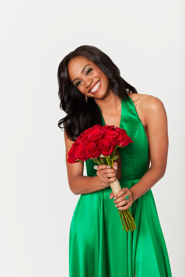 "THE BACHELORETTE - Rachel Lindsay, a fan favorite on the 21st season of ABC's hit romance reality series ""The Bachelor,"" starring Nick Viall, was named as the next woman to hand out the roses and attempt to find her own happy ending when ""The Bachelorette"" premieres for its 13th season, MONDAY, MAY 22 (9:00-11:00 p.m. EST), on The ABC Television Network. (ABC/Craig Sjodin)RACHEL LINDSAY"