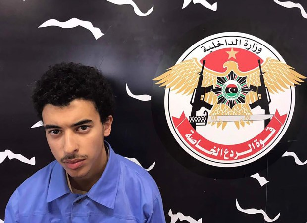 A photo  on the Facebook page of Libya's Special Deterrence Force on May 24, 2017 claims to shows Hashem Abedi, the brother of the man suspected of carrying out the bombing in Manchester, after he was detained in Tripoli. (Libya Special Deterrence Force / AFP)