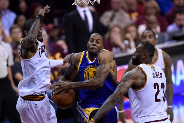 Facing LeBron James again, Andre Iguodala can bolster legacy