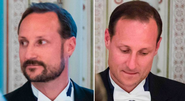 Haakon, before and after. (AFP Getty)