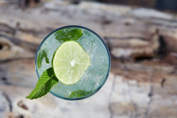 An SS Refresher is perfect for lakeside sipping at Tahoe City's SunnysideRestaurant & Lodge. (Courtesy of Sunnyside Restaurant & Lodge)