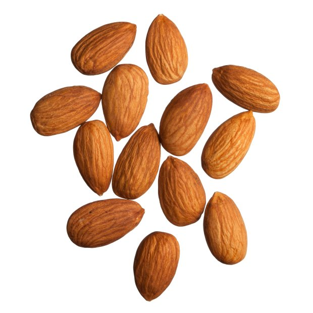 California almonds are more oval and less buttery than Spain's Marcona almonds. (Thinkstock)