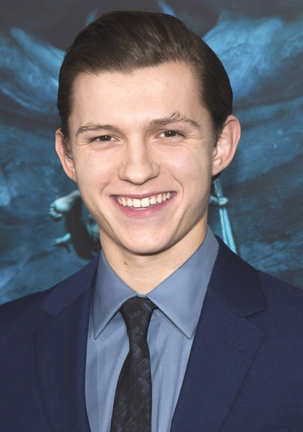 "Tom Holland plays the title role in this summer's ""Spider-Man: Homecoming.""(Charles Sykes/Invision/AP/file)"