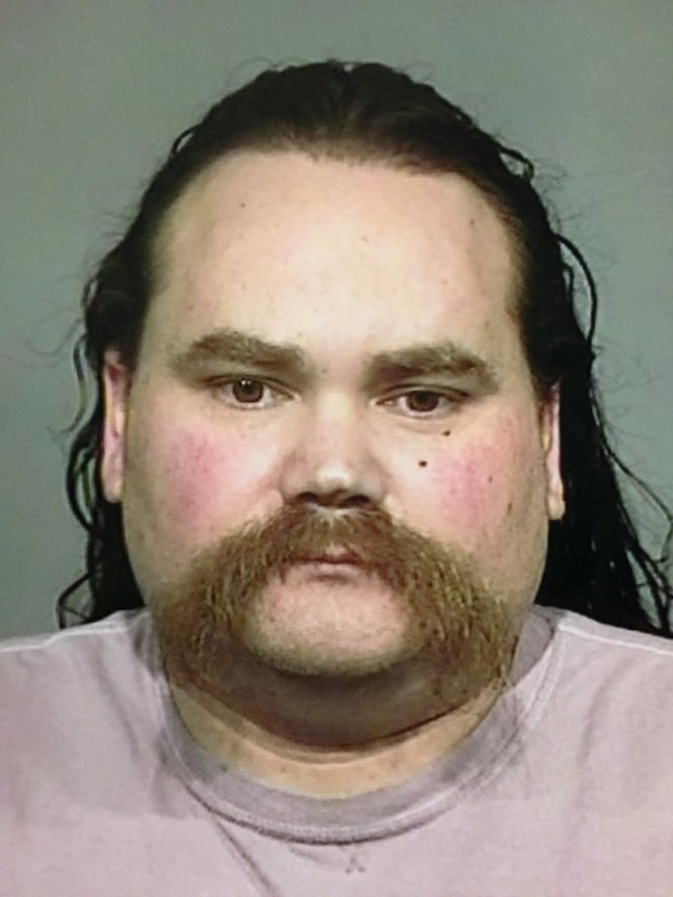 This undated photo released by the Sonoma County Sheriff's Office shows Shaun Gallon. Sonoma County Sheriff Steve Freitas says suspect Gallon is in custody in the killings of a young couple on a Northern California beach more than a decade ago. Gallon was arrested in the killing of his brother and investigators interrogated him in the 2004 Jenner, Calif., killings. (Sonoma County Sheriff's Office via AP)