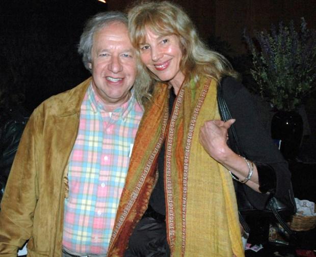 "Nicholas Sand and his partner, Gina ""Usha"" Raetze. (William Radacinski/Lorenzo Hagerty via AP)"