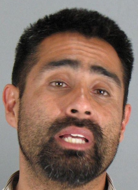 Andres Sanchez, 36, of San Jose, was arrested May 10 on suspicion of carjacking by the San Mateo County Sheriff's Office.