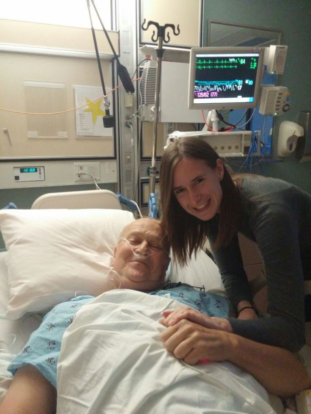 Ray Perman of Piedmont, who used California's end of life option in February 2016 with his daughter, Andrea Witherell. (Courtesy of Andrea Witherrll)