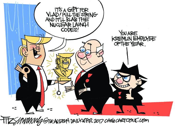 David Fitzsimmons / Arizona Star