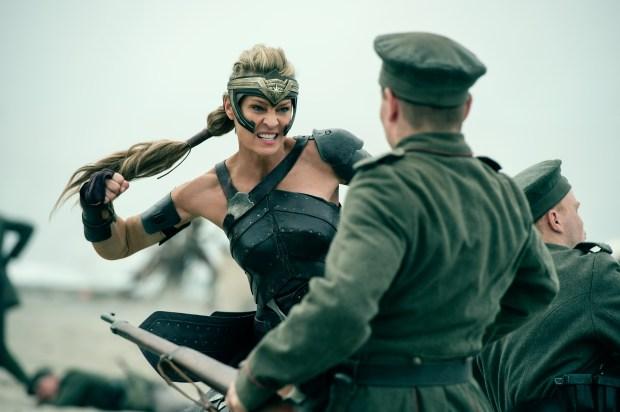 Robin Wright plays Antiope in 'Wonder Woman.' (Warner Bros.)