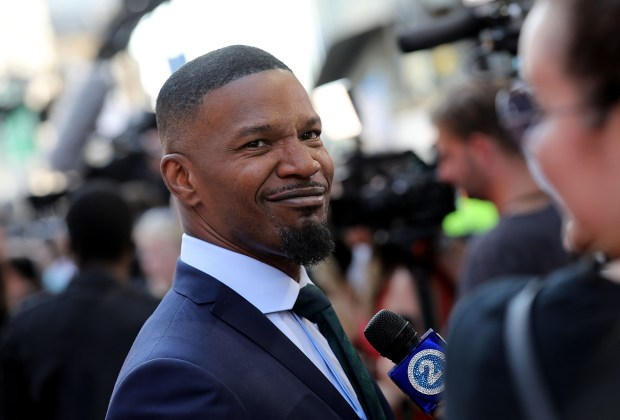 """LONDON, ENGLAND - JUNE 21: Jamie Foxx attends the European Premiere of Sony Pictures """"Baby Driver"""" on June 21, 2017 in London, England. (Photo by Tim P. Whitby/Getty Images for Sony Pictures )"""