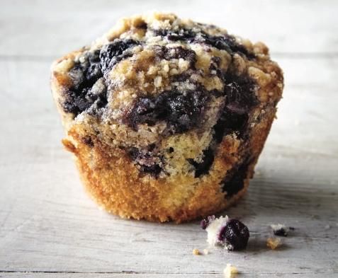 """The ready-for-my-closeup perfection of Heidi Gibson's Bake-Sale BerryMuffins comes from a very simple trick, divulged in the San Francisco chef's newest cookbook, """"Muffins and Biscuits."""" (Chronicle Books)"""