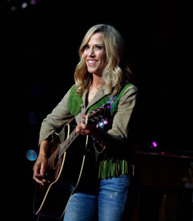 Sheryl Crow performs at the Mountain Winery in Saratoga June 10-11. (Patrick Tehan/Bay Area News Group)