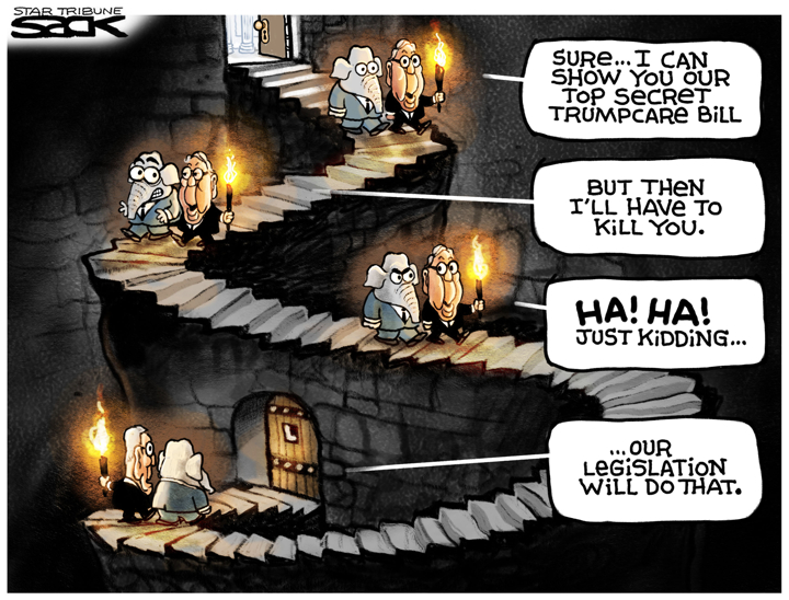 Steve Sack / Minneapolis Star Tribune