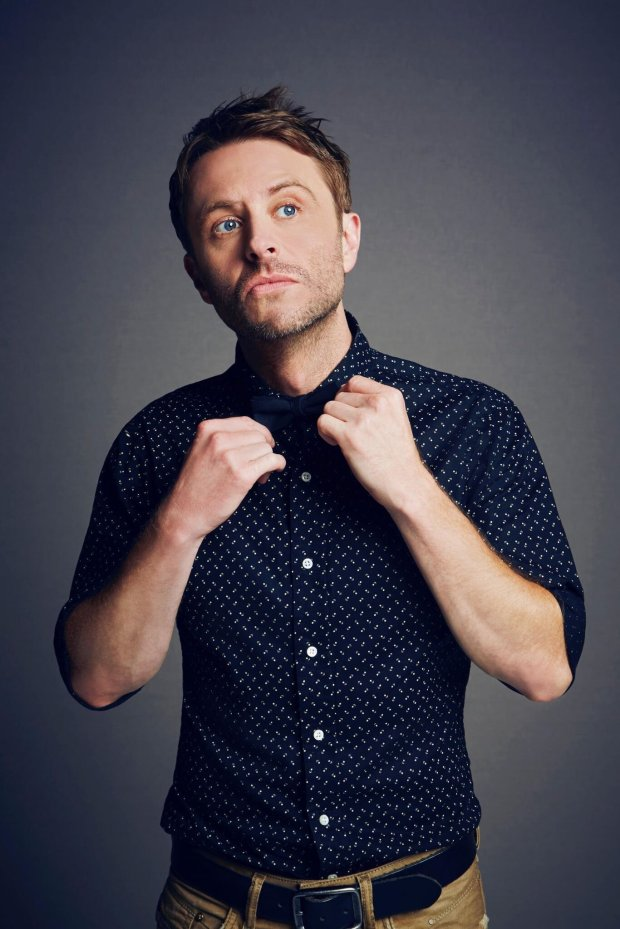 Chris Hardwick, comedian, talk show host and founder of the *ID10T MusicFestival + Comic Conival. *