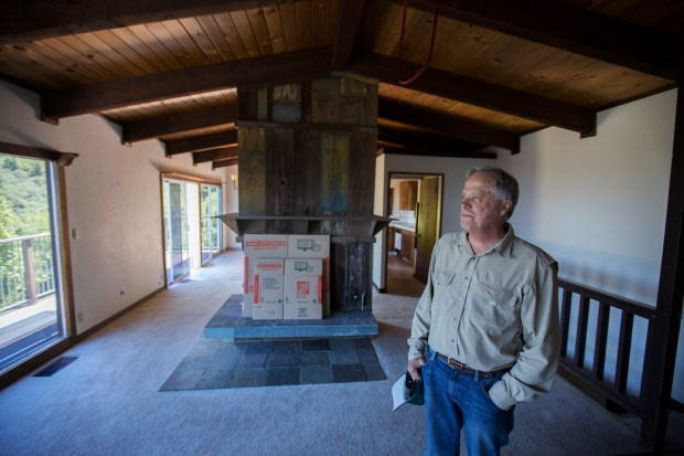 Steve Abbors, general manager of the Midpeninsula Regional Open Space District, photographed in the district's house located in the hills above Los Gatos, California, Thursday, June 15, 2017. A run-down mountain house that the Bay Area open space district spent $1 million in 2005 to purchase and renovate as a home for one if its rangers -- sparking public criticism -- will now be demolished. (Patrick Tehan/Bay Area News Group)